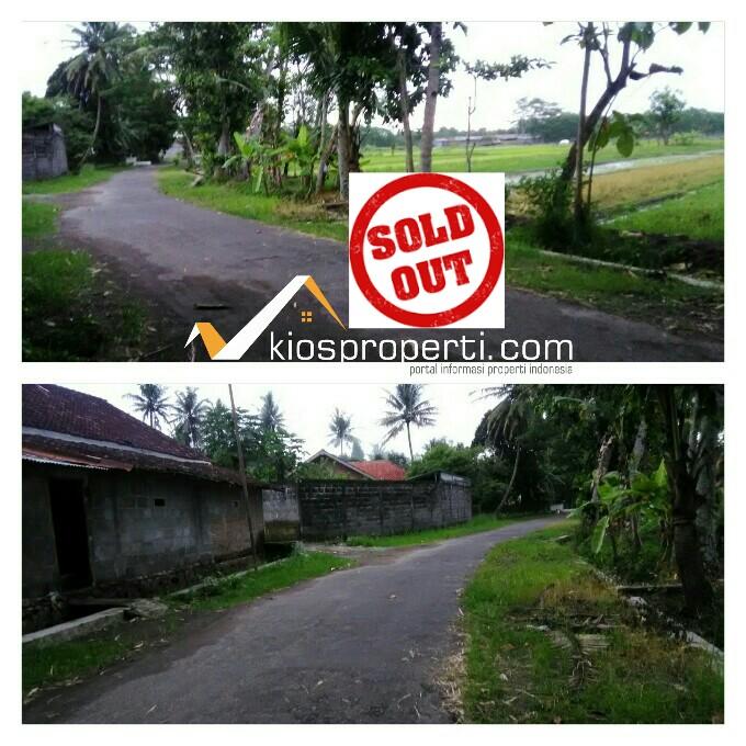 Tanah 500 Ribu Utara Jalan Wates Yogyakarta