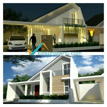 Rumah Estetika Modern Tepi Jalan Raya Purwomartani Kalasan Sleman