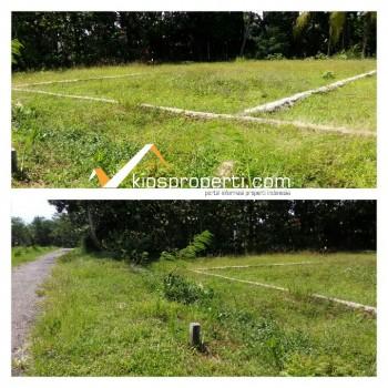 Tanah SHM Pekarangan 100 Jutaan Di Jl. Godean Km 14 Moyudan Sleman